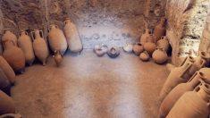 Trabajadores encuentran 19 jarras romanas con un tesoro escondido dentro