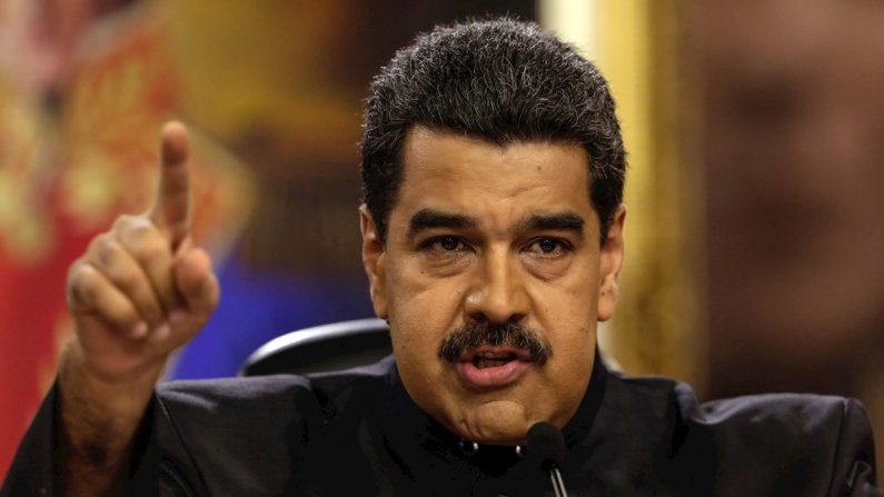 El dictador de Venezuela, Nicolás Maduro. EFE/Archivo
