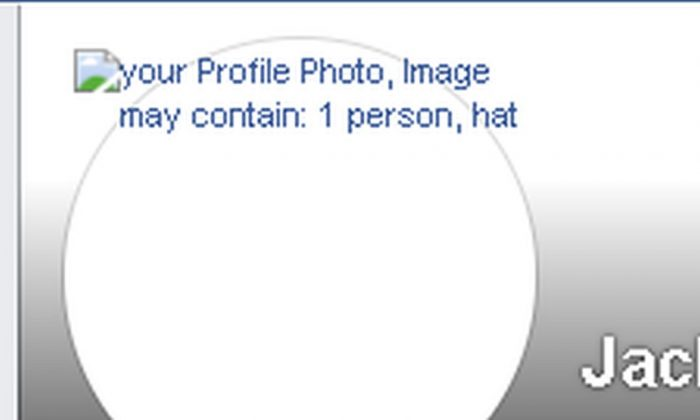 Captura de pantalla de la portada de la página de Facebook del reportero Jack Phillips de La Gran Época. (Facebook)