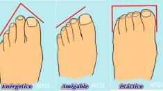 Aquí hay 13 tipos de dedos de los pies y las fascinantes pistas que revelan sobre tu personalidad