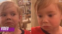 Él jura que no abrió el regalo de Navidad sin permiso ¡hasta que mamá dice que revisará las cámaras!