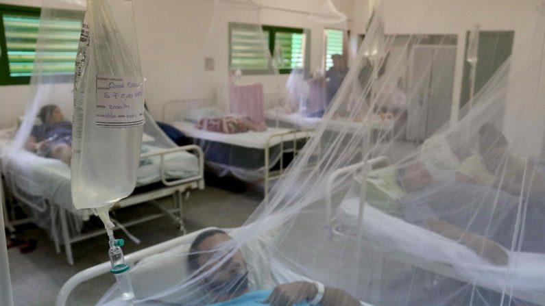 Aumentan casos de dengue en Nicaragua. EFE/Andrés Cristaldo Benítez/Archivo