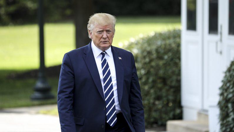 El presidente Donald Trump en la Casa Blanca el 19 de julio de 2019. (Charlotte Cuthbertson/The Epoch Times)