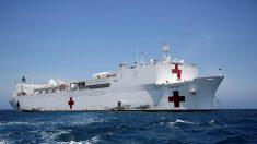 Pacientes colombianos y venezolanos buscan salud en buque hospital de EE.UU.