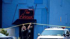 Video viral muestra el momento en que la policía derriba al tirador masivo de Dayton
