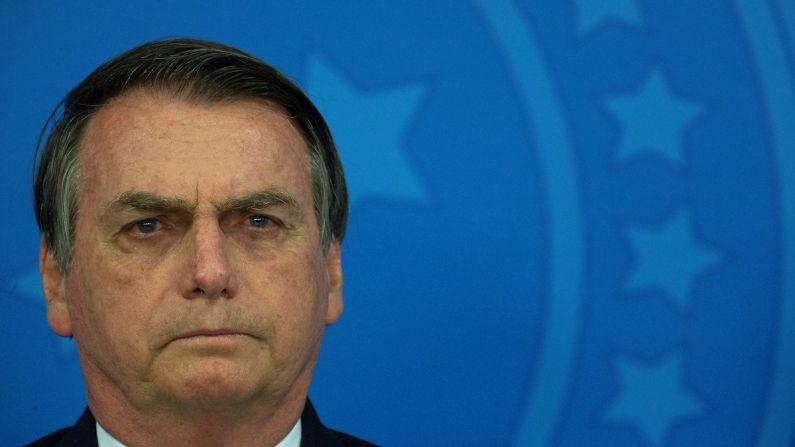 O presidente do Brasil, Jair Bolsonaro.  (EFE/Joédson Alves/Archivo)