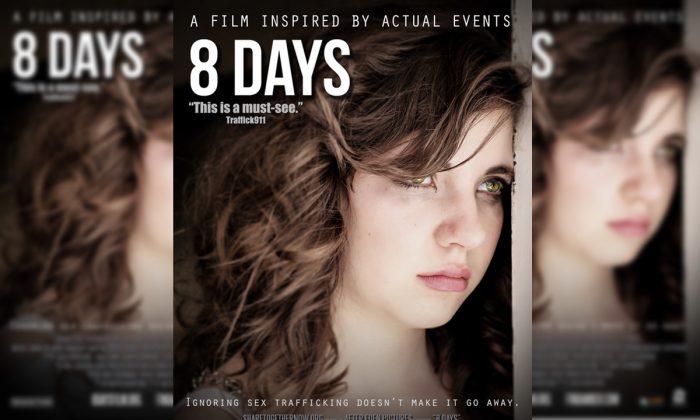 8 días, un largometraje basado en hechos reales que habla sobre el horrendo crimen del tráfico sexual de niños en los Estados Unidos. (After Eden Pictures)