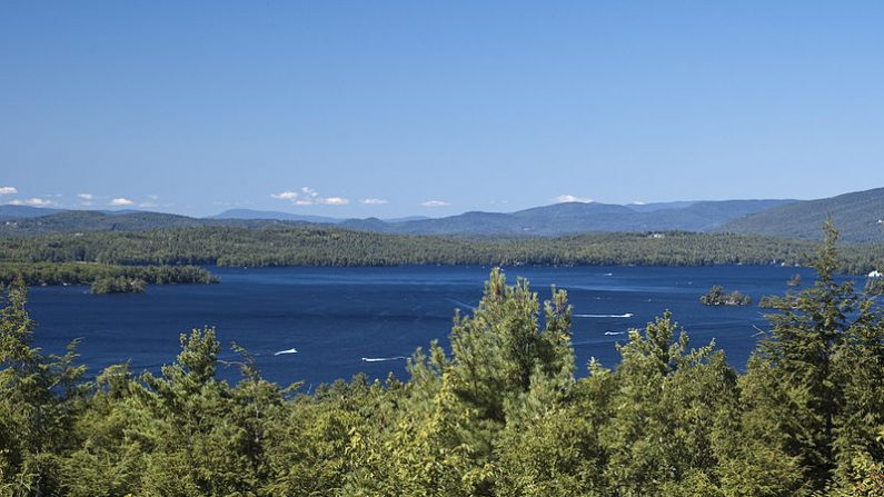 Lago en las montañas de New Hampshire al noreste de Estados Unidos. (Wikimedia Commons)
