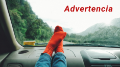 Nunca pongas los pies en el tablero de un automóvil: esta es la alarmante razón