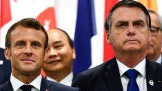 Bolsonaro rechaza la ayuda del G7 para combatir los incendios y cuestionó las intenciones de Macron