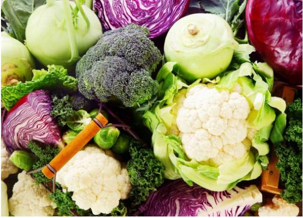 Verduras cruciferas