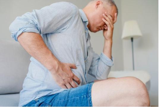 Dolor abdominal y perdida de peso repentina