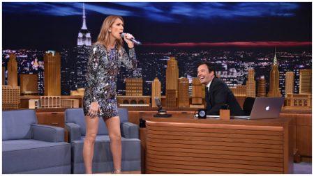 Jimmy Fallon le pide a Celine Dion que imite a Michael Jackson, ¡y el resultado es fenomenal!