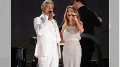 """Céline Dion y Andrea Bocelli cantan """"The Prayer"""": la actuación más conmovedora de todos los tiempos"""