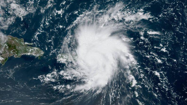 Huracán Dorian 28 de Agosto de 2019 (NASA)