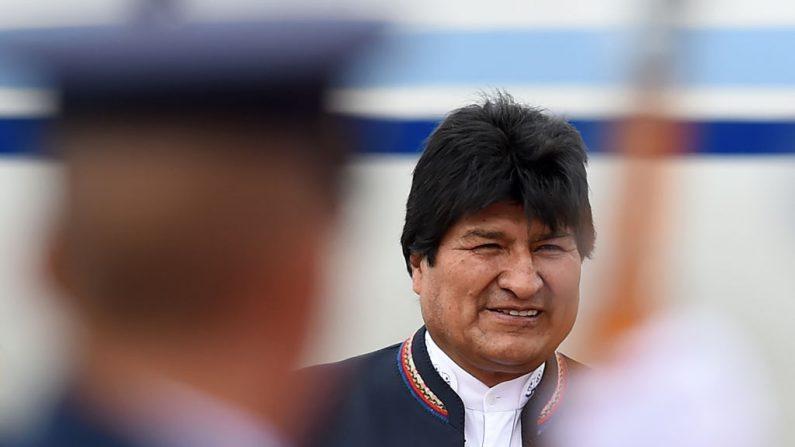 O presidente da Bolívia, Evo Morales, em uma imagem de arquivo de 7 de agosto de 2019 (DIANA SANCHEZ / AFP / Getty Images)
