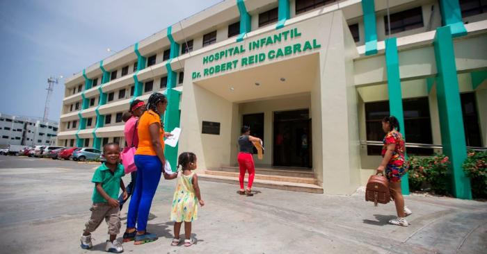 Foto ilustrativa. Hospital Robert Read Cabral, en Santo Domingo el 10 de julio de 2019. Foto de ERIKA SANTELICES/AFP/Getty Images.