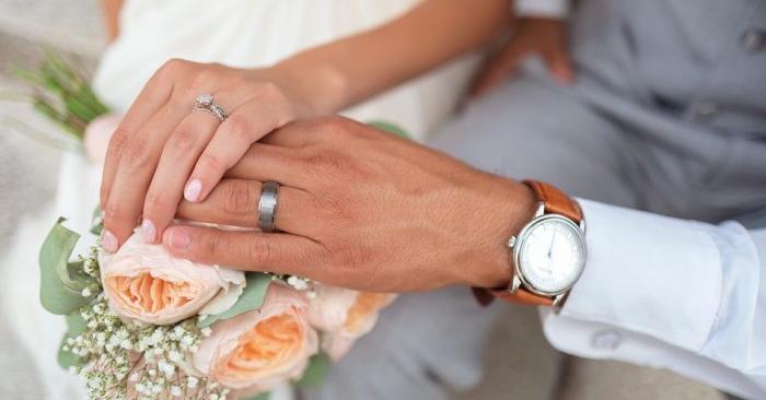 Imagen de archivo de una pareja recién casada. (Pexels/Pixabay)