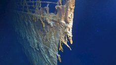 Fotografían los restos del Titanic por primera vez en 14 años, su deterioro es notable