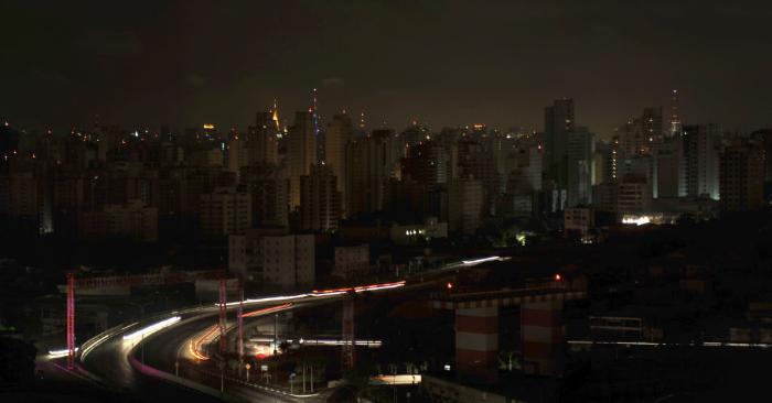Foto de archivo de los edificios residenciales en el barrio de Moema en Sao Paulo, Brasil. Foto de MAURICIO LIMA/AFP/Getty Images.