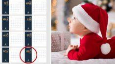 7 razones científicas que explican porqué los bebés nacidos en diciembre son realmente especiales