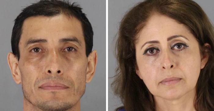 Wilfredo Amaya y Haydee Arguello. (Departamento de Policía de San Bruno)