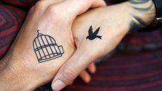 Investigadores crean tinta para tatuajes que cambia de color según tus niveles de glucosa y pH
