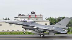 EE.UU. aprueba la venta de aviones F-16 de combate a Taiwán