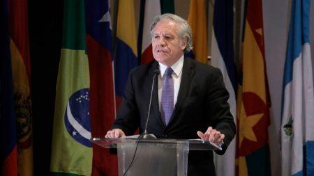 """Almagro dice que régimen cubano es """"la peor dictadura de todas"""""""