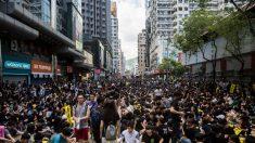 Huelga general se apodera de Hong Kong mientras el gobierno advierte que las protestas desafían la soberanía de China