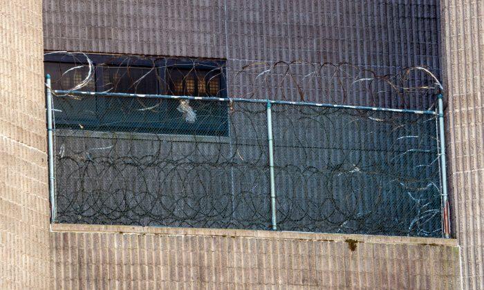 El Centro Correccional Metropolitano donde Jeffrey Epstein se encontraba en Nueva York, el 10 de agosto de 2019. (Don Emmert/AFP/Getty Images)