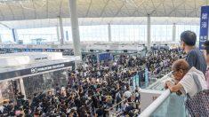 Cancelan cientos de vuelos en Hong Kong por segundo día consecutivo