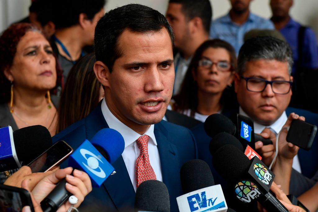 """Juan Guaidó advierte a los argentinos que """"el comunismo hace mucho daño"""""""