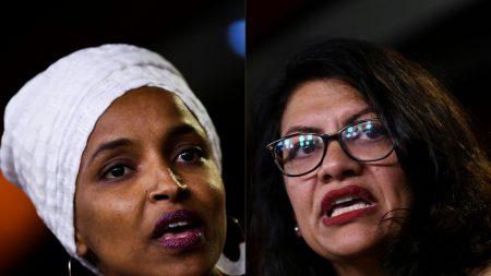 Trump defende que Israel proíba entrada de congressistas muçulmanas no país