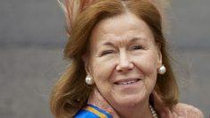 Muere la princesa Cristina, tía del rey Guillermo Alejandro de Holanda