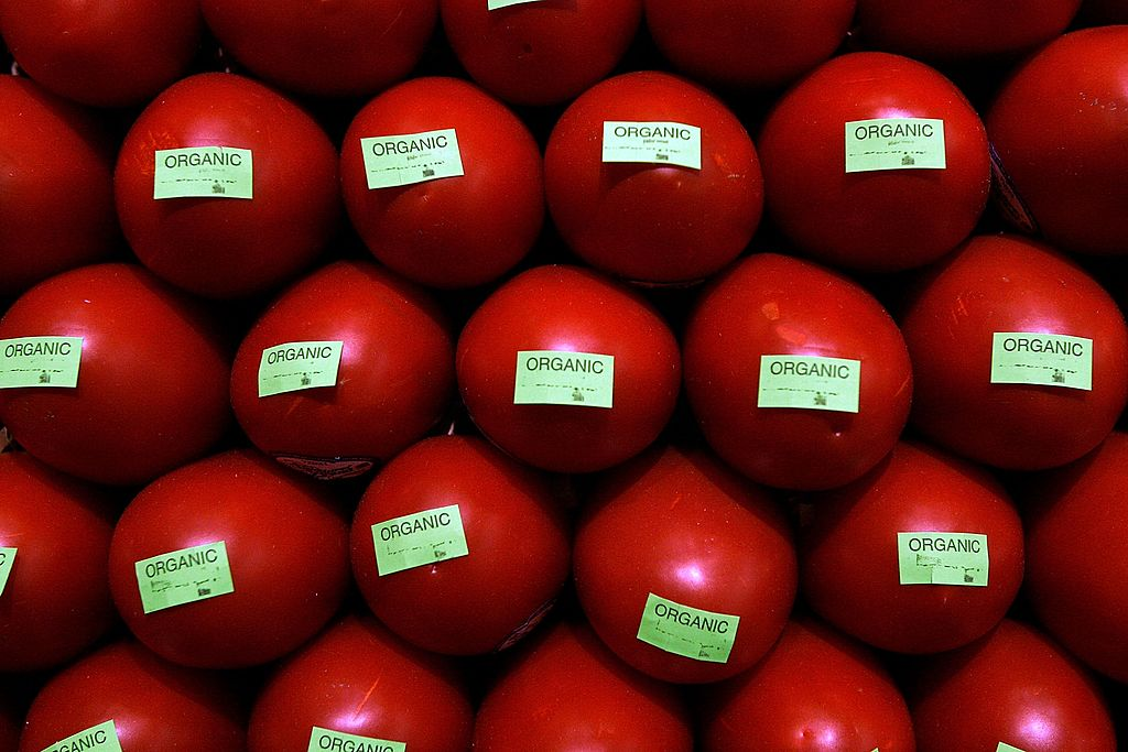 manzanas rojas organicas