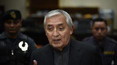 Imputan en nuevo caso de corrupción a expresidente de Guatemala Pérez Molina