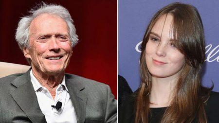 Nieta de Clint Eastwood tiene un gran parecido con su abuelo y sigue sus mismos pasos
