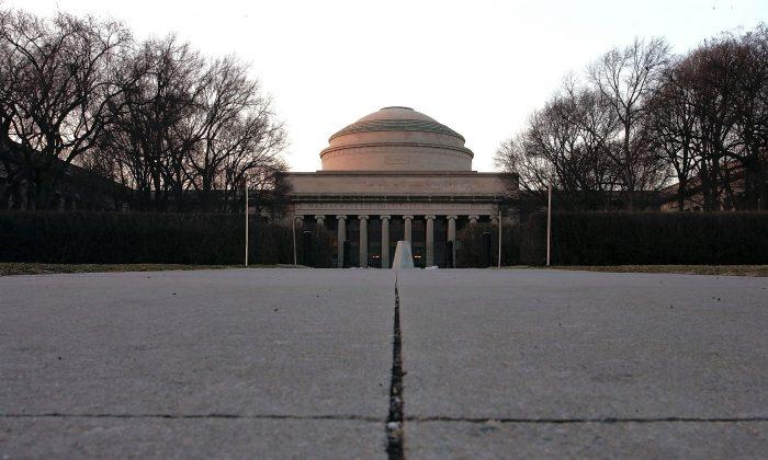 O MacLaurin Building é exibido no campus do Instituto de Tecnologia de Massachusetts, em Cambridge, Massachusetts, em 22 de fevereiro de 2006 (Joe Raedle / Getty Images)
