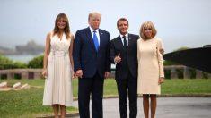 Melania Trump deslumbra con un vestido crema sin mangas en la Cumbre G7