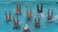 """Con esta """"caminata en la Luna"""" las mexicanas de nado sincronizado hicieron historia en los Panamericanos"""