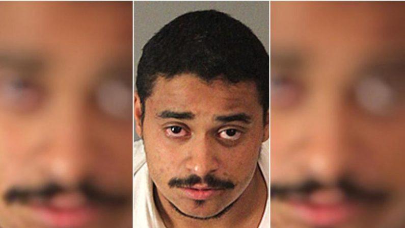 John Félix Hernández, hispano condenado a la pena capital por el asesinato de dos policías en California. (Departamento del Sheriff de Riverside)