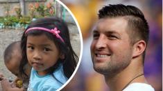 El famoso jugador de béisbol Tim Tebow cambia sus regalos de cumpleaños por ayudar a 150 niños
