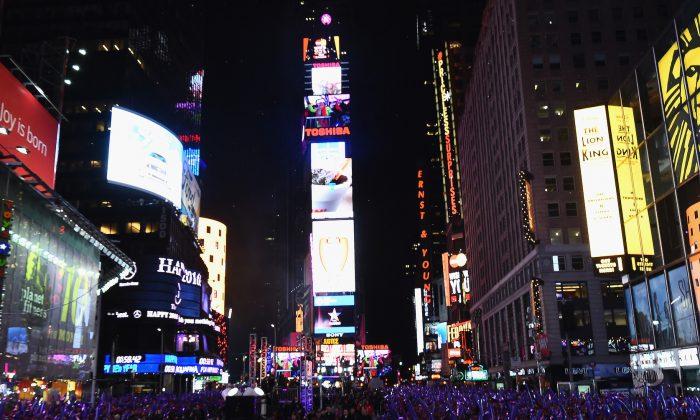 Foto de archivo de Times Square. (Nicholas Hunt/Getty Images)
