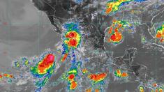 Tormenta tropical Ivo se fortalece: se prevén intensas lluvias y olas de 5 metros en Baja California Sur