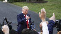 "Trump niega informe que dice que sugirió usar bombas nucleares contra huracanes: ""más noticias falsas"""