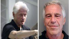 Habla la artista que pintó el cuadro de Clinton encontrado en la mansión de Epstein