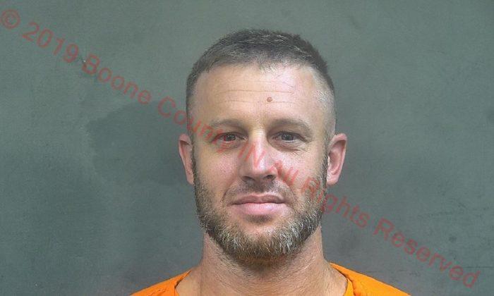 Benjamin Dillon en una foto de archivo. (Cárcel del Condado de Boone)