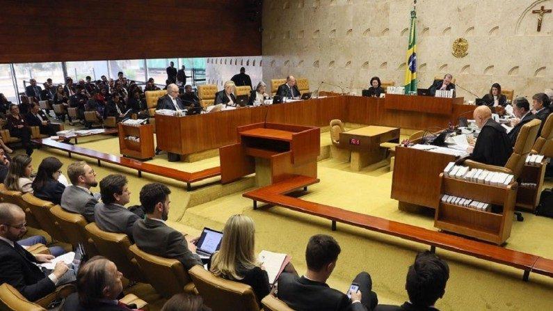 Plenário do Supremo Tribunal Federal (Nelson jr./SCO/STF)