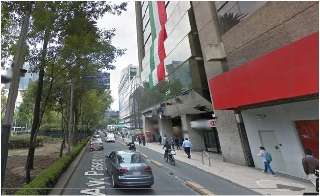 Casa de Moneda en Paseo de la Reforma, en la Ciudad de México. (Google Maps)